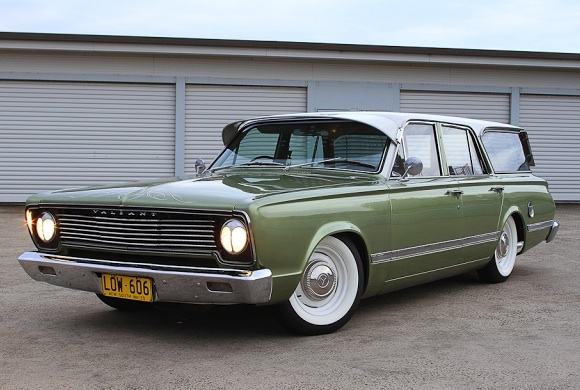 Aussie Surf Perfection: 1966 Chrysler Valiant Wagon