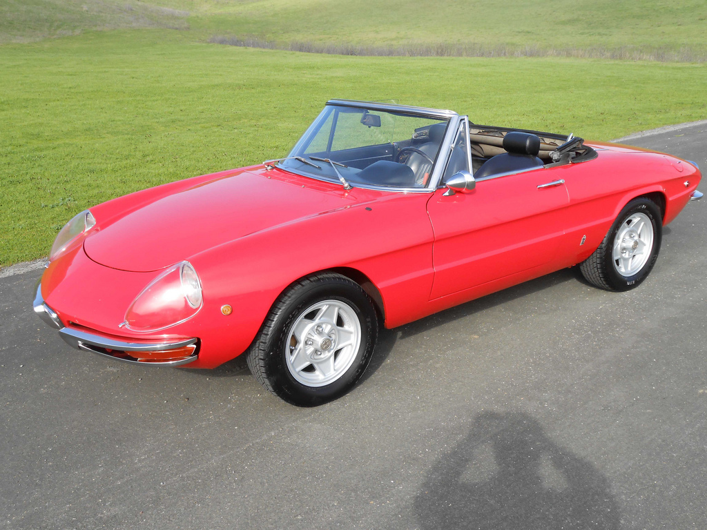 BaT Exclusive: 1969 Alfa Romeo 1750 Boat-tail Spider