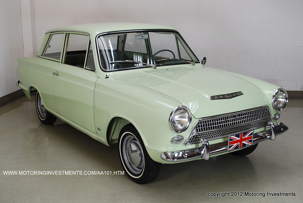 MOTORING INVESTMENTS' FORD CORTINA PAGE