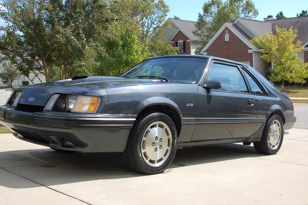 AutoTrader Classics - 1984 Ford Mustang Coupe Gray 4 Cylinder Manual 2 wheel drive | Muscle & Pony Cars | Columbia, SC