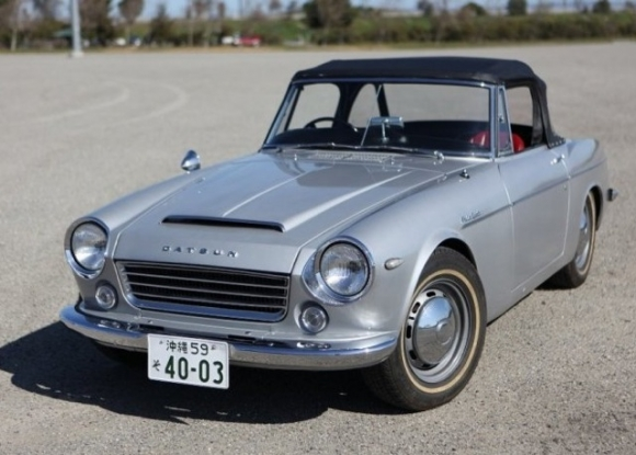 BaT Exclusive: JDM RHD 1965 Datsun Fairlady Roadster
