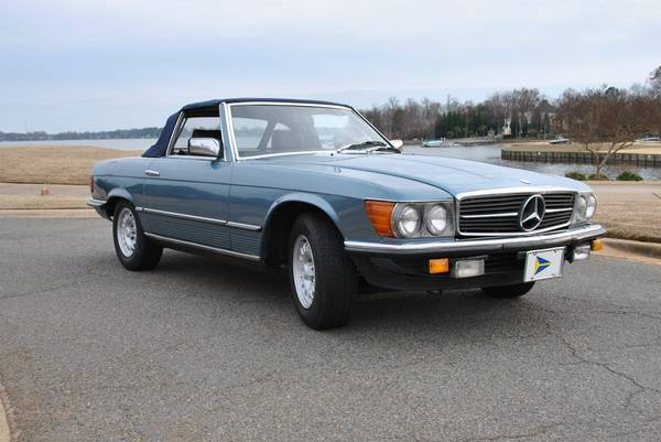 1982 Mercedes 280 SL 5 speed