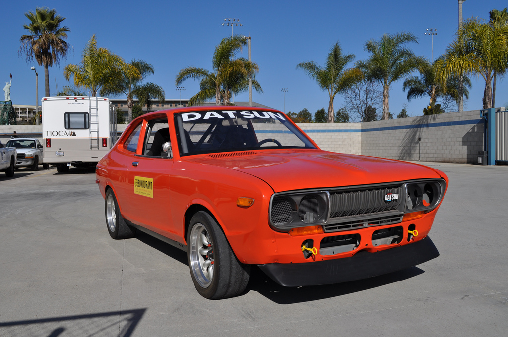 BaT Exclusive: Bondurant Racing School 1974 Datsun 710