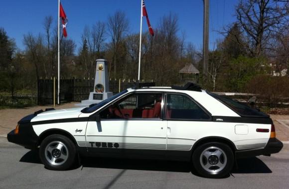 1984 Renault Fuego Turbo