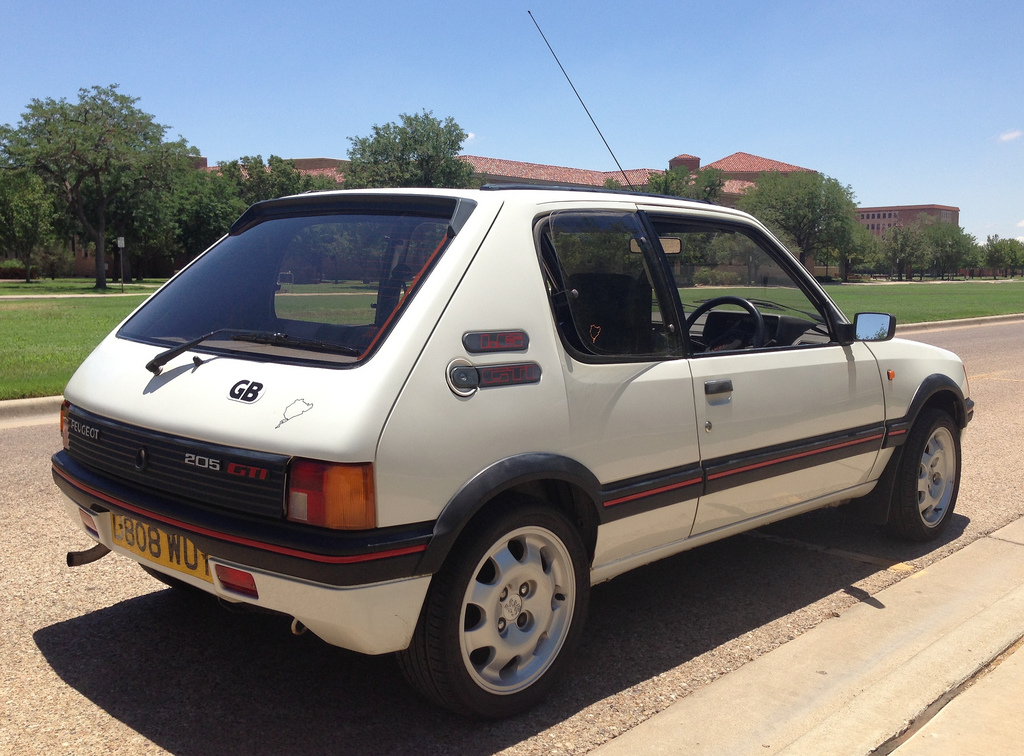 BaT Exclusive: 1986 Peugeot 205 GTi in the USA