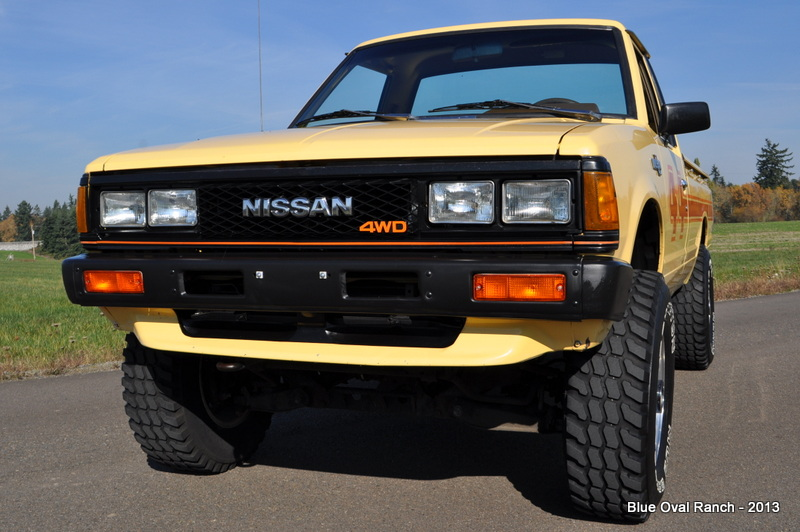No-Reserve 1983 Datsun 4×4 Pick-Up Survivor