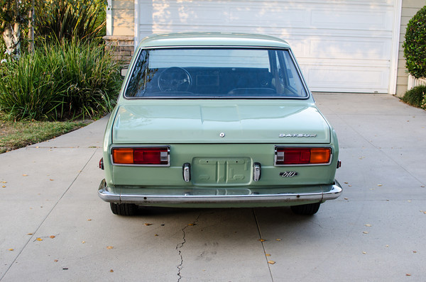 Seller Submission: Clean 1971 Datsun 510 Roller