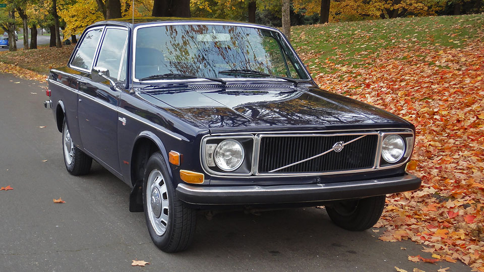 Original Charm: 1971 Volvo 142S 2-Door
