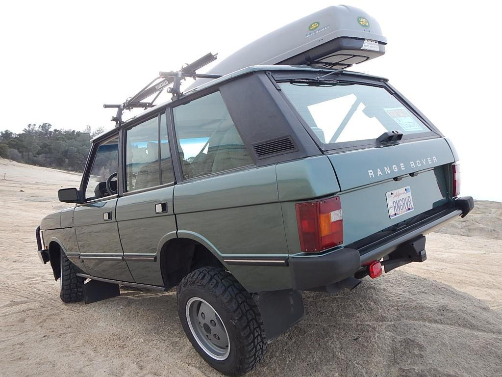 BaT Exclusive: The Pilot's 1-Owner 1988 Range Rover Classic 4×4