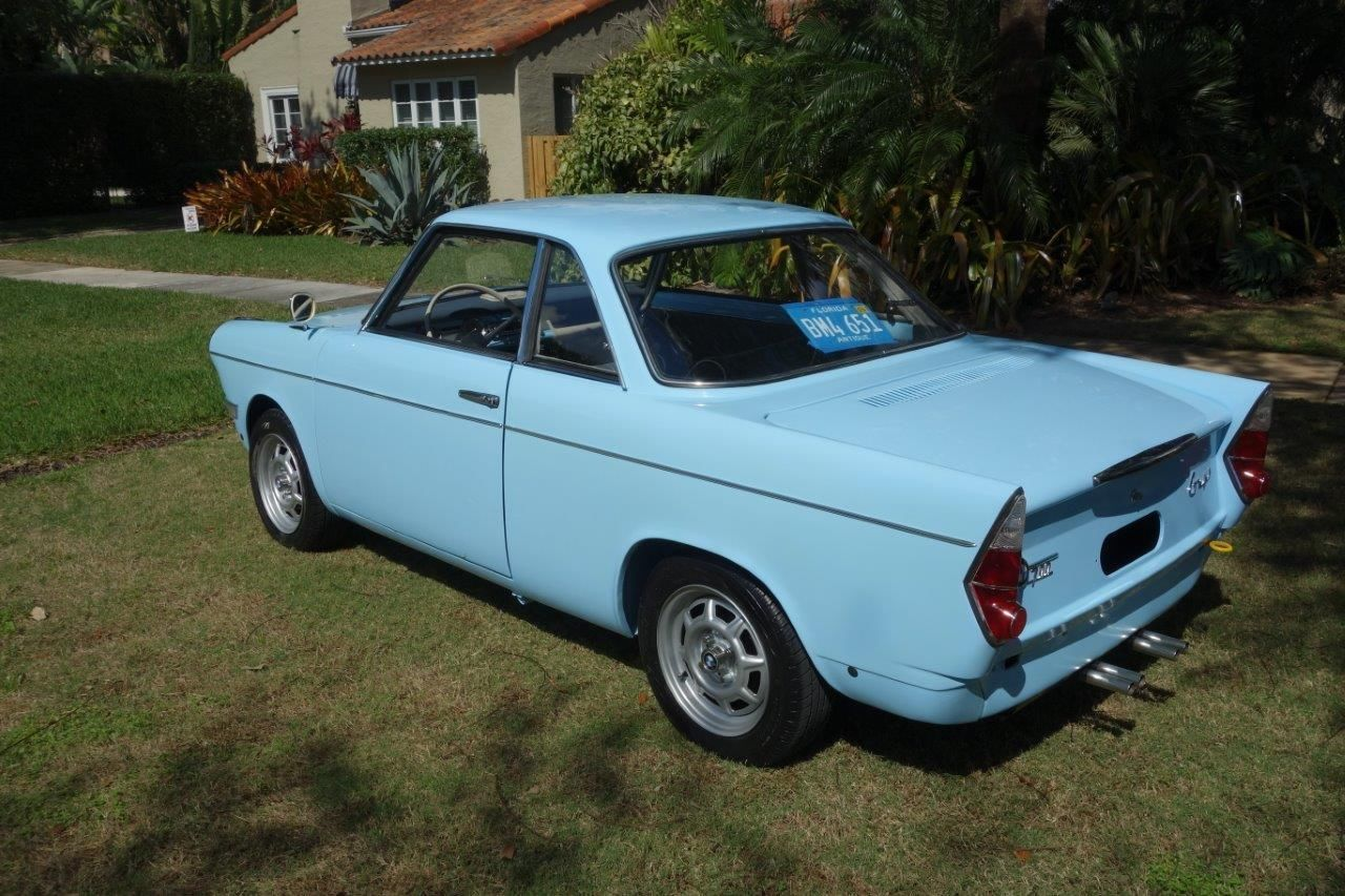 The Miami Factory: Restored 1962 BMW 700 Coupe