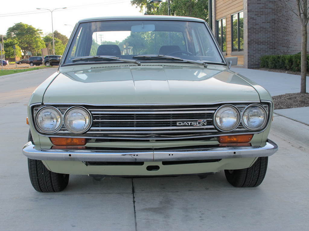 BaT Exclusive: Mild Street Build 1972 Datsun 510 Sedan