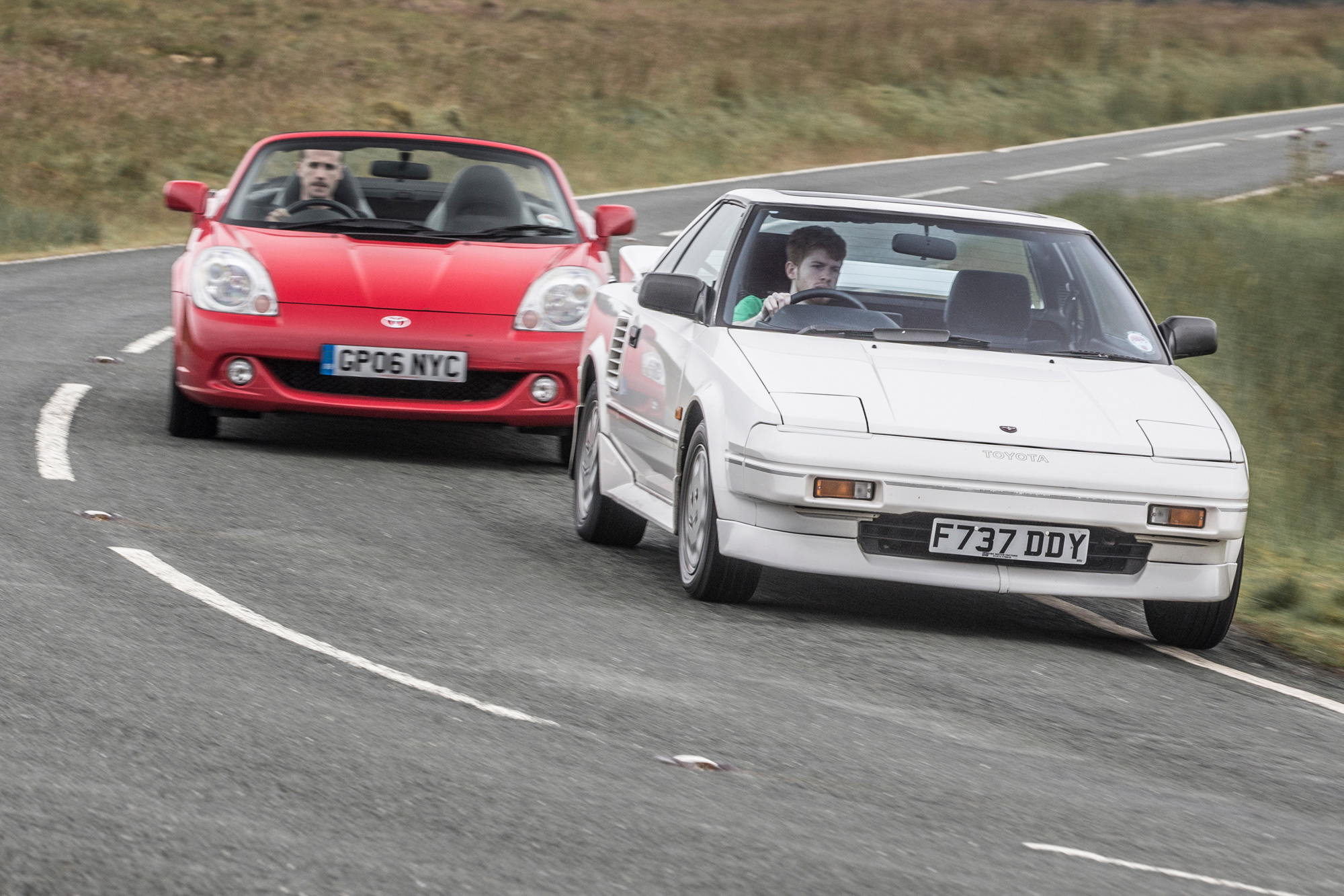 Toyota sports cars past and present head to the Welsh hills « Toyota UK news, reviews, video and pictures