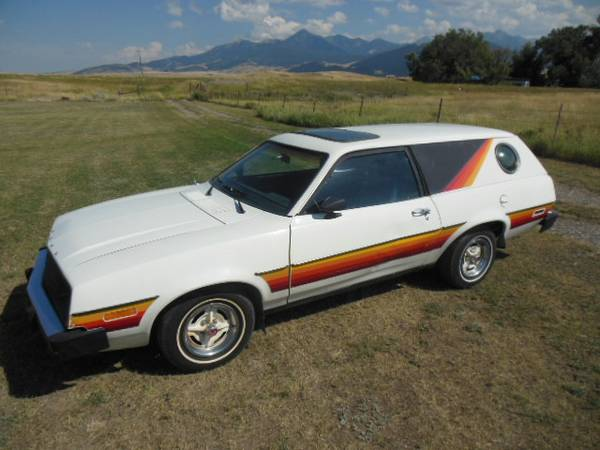 Rare 1979 Ford Pinto Cruising Wagon