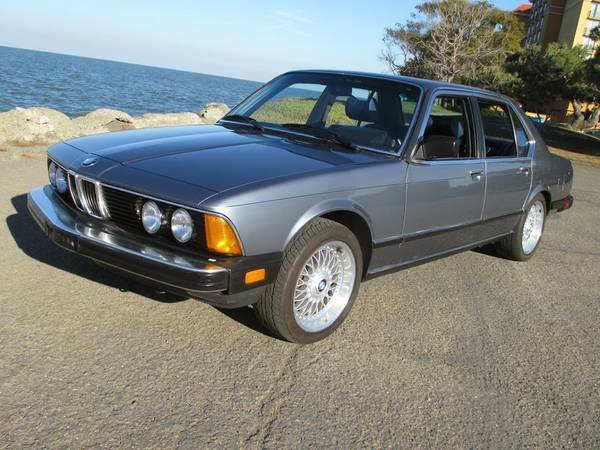 Immaculate 1984 BMw 733i Rare 5 Speed E23 Style 5s!