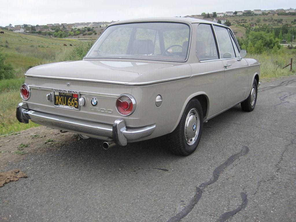 Original California 1968 BMW 1600-2 | Bring a Trailer